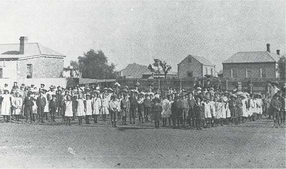 Quorn Primary School in 1892